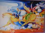 Obras de arte: America : Colombia : Cundinamarca : BOGOTA_D-C- : JINETES
