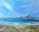 Obras de arte: Europa : España : Andalucía_Cádiz : San_Fernando : Playa de Camposoto, Castillo de Santipetri