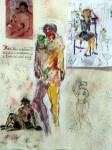 Obras de arte: Europa : España : Valencia : Ontinyent : desnudo
