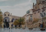 Obras de arte: Europa : España : Murcia : Lorca : LLUVIA EN LA PLAZA