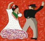 Obras de arte: Europa : España : Principado_de_Asturias : Gijón : flamenco 1