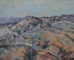 Obras de arte:  : España : Extremadura_Badajoz : badajoz_ciudad : PAISAJE DE MI TIERRA VI