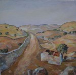 Obras de arte:  : España : Extremadura_Badajoz : badajoz_ciudad : CASA EN EL CAMPO