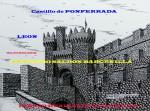 Obras de arte:  : España : Castilla_y_León_Palencia : palencia : CASTILLO DE PONFERRADA ( LEON )