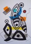 Obras de arte:  : España : Catalunya_Barcelona : Barcelona : DIBUJO ESPONTANEO