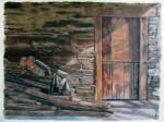 Obras de arte:  : España : Galicia_Pontevedra : Cangas :   la sombra