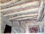 Obras de arte:  : España : Galicia_Pontevedra : Cangas :   Techo encalado