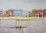 Obras de arte: Europa : España : Andalucía_Sevilla : Sevilla-ciudad : LA CALLE BETIS A ORILLAS DEL RÍO