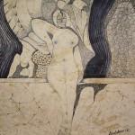 Obras de arte: Europa : España : Extremadura_Badajoz : badajoz_ciudad : La presencia-ausete de una tarde-noche.7