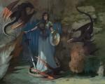 Obras de arte: America : Chile : Region_Metropolitana-Santiago : Santiago_de_Chile : Nido de dragón