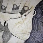 Obras de arte: Europa : España : Extremadura_Badajoz : badajoz_ciudad : La presencia -ausente de una tarde-noche.3