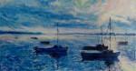 Obras de arte:  : Cuba : Las_Tunas : Tunas_ciudad : Puerto de Manatí al amanecer.