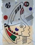 Obras de arte:  : España : Catalunya_Barcelona : Barcelona : IMPROVISACION(FORMA,LINEA Y COLOR)-2