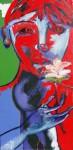 Obras de arte: Europa : Francia : Nord-Pas-de-Calais : LONGUENESSE : Jeune homme à la fleur