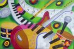 Obras de arte:  : Panamá : Panama-region : albrook : Instrumentos musicales