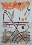 Obras de arte:  : España : Catalunya_Barcelona : Barcelona : IMPROVISACION(LINEA Y COLOR)-14