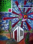 """Obras de arte: Europa : España : Catalunya_Barcelona :  : """" barraca solitària """""""