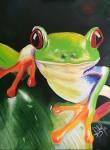 Obras de arte:  : Panamá : Panama-region : albrook : Rana