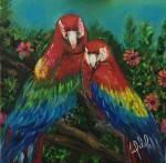Obras de arte:  : Panamá : Panama-region : albrook : Guacamayas