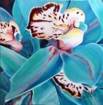 Obras de arte:  : Panamá : Panama-region : albrook : Orquídea azul