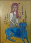 Obras de arte:  : Uruguay : Montevideo :  : Laila y  Laika