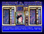 Obras de arte:  : Panamá : Chiriqui : David : PARA ENGAÑAR AL ENEMIGO VIGILANTE Y FUNESTO... (Baudelaire)