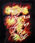 Obras de arte: America : Cuba : Ciudad_de_La_Habana :  : Rock 'N' Roll Cubano No. 7- acrílico sobre lienzo, 100 x 80 cms. , 2018
