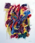 Obras de arte: America : Cuba : Ciudad_de_La_Habana :  : Rock 'N' Roll Cubano No. 12- acrílico sobre lienzo, 100 x 80 cms., 2018