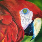 Obras de arte:  : Panamá : Panama-region : albrook : Guacamaya