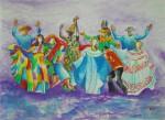 Obras de arte:  : Panamá : Panama-region : albrook : Bailemos Juntos Panama