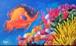 Obras de arte:  : Panamá : Panama-region : albrook : Pez y Corales