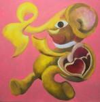 <a href='https://www.artistasdelatierra.com/obra/153771-Elefante-corazon-.html'>Elefante corazon  » Sonia Mora<br />+ más información</a>