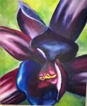 <a href='https://www.artistasdelatierra.com/obra/153773-Orqu%C3%ADdea-negra.html'>Orquídea negra » Sonia Mora<br />+ más información</a>