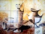Obras de arte: Europa : España : Aragón_Zaragoza : pastriz : BODEGON