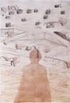 Obras de arte: America : Perú : Lima : la_molina : la llegada de gulliver III