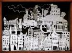 Obras de arte: Europa : España : Madrid : Madrid_ciudad : Volando en sidecar sobre Edimburgo