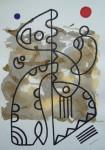 Obras de arte:  : España : Catalunya_Barcelona : Barcelona : DIBUJO ESPONTANEO-A