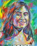 Obras de arte: America : Colombia : Santander_colombia : Bucaramanga : Retrato de Juanita
