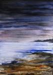 Obras de arte:  : España : Galicia_Pontevedra : Vilagarcía : Agardando a lúa