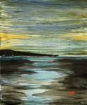 Obras de arte:  : España : Galicia_Pontevedra : Vilagarcía : De lonxe ven o mar