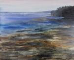 Obras de arte:  : España : Galicia_Pontevedra : Vilagarcía : Deitada no mar