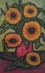 Obras de arte: America : México : Chiapas : Tapachula : girasoles