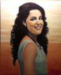 Obras de arte: Europa : España : Extrmadura_Cáceres : Logrosan : Retrato de Estefanía