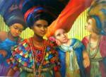 Obras de arte: America : Panamá : Veraguas : Santiago_de_Veraguas : PENSAMIENTOS DE LA VIDA