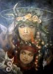 Obras de arte: America : México : Durango : durango_ciudad : Mi madre y yo