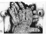 Obras de arte: America : México : Tabasco : Villahermosa : Cuidado con lo que haces