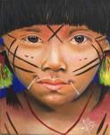 Obras de arte:  : Panamá : Panama-region : albrook : Yanomami