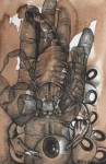 Obras de arte: America : México : Tabasco : Villahermosa : ¿Cómo nacen los escorpiones?