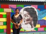 Obras de arte: America : Honduras : Francisco Morazan : Tegucigalpa : tributo a Clementina Suarez