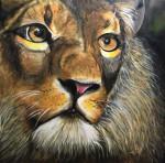 Obras de arte:  : Panamá : Panama-region : albrook : El león